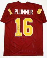Jake Plummer Autographed Maroon College Style Jersey- Beckett Authenticated *1
