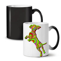 Psychedelic Dog Fashion NEW Colour Changing Tea Coffee Mug 11 oz | Wellcoda