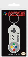Nintendo SNES Console Controller Rubber Keychain Keyring
