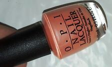 NEW! OPI Nail Polish Vernis TUTTI FRUTTI TONGA ~Pale Pink Touched by Pearl & Ice