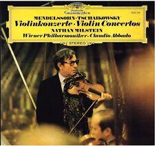 Tchaikowsky; Mendelssohn: Concerto Per Violino / Milstein Abbado - LP DGG