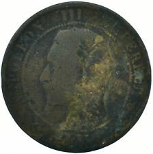 COIN / FRANCE / 10 CENTIMES 1854 BEAUTIFUL COLLECTIBLE   #WT29633