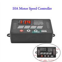 8-55V Max 10A PWM DC Motor Speed Regulator Power Controller w/ Digital Display