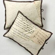Anthropologie Love Letters Standard Shams Set