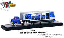 M2 MACHINES 1/64 1956 Ford COE & 1970 Ford Torino Cobra 36000-19B CHASE CAR