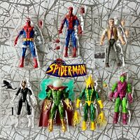 Spider-man retro Marvel Legends Phage MJ Watson Miles Morales Gwen Stacy UPICK