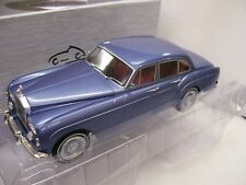 1/18 Modelcargroup 18057 Diecast Rolls Royce Silver Cloud III Flying Spur BLUE