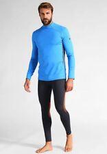Under Armour - Coldgear Reactor Fitted Longsleeve Shirt - Men's Small - Blue