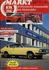 OM3178 Oldtimer Markt 1988 4/88 Honda Super Cub Daf Stratos HF KS601 Audi 100
