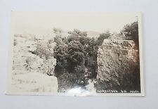 RPPC DEVILS GULCH, Garretson, SD PHOTO Postcard Un-used