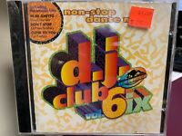 D.J. CLUB MIX VOL 6 MIXED CD 1994 POLYTEL 7400202 sealed