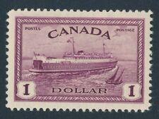 CANADA 1946 MINT #273, $1 TRAIN FERRY !! B129