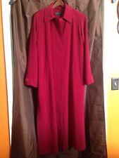 Gallery Women's Long Red Winter Peacoat - Size 6