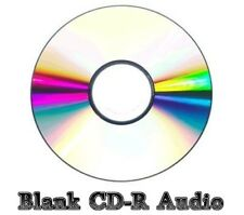 100x Blank CD-R Audio Disc (52x 80min 700MB) Music/Audio CD Recordable
