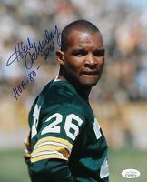PACKERS Herb Adderley signed 8x10 photo w/ HOF 80 JSA COA AUTO Autographed