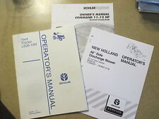 New Holland LS35-15 LS 35-15 yard tractor owners maintenance manual