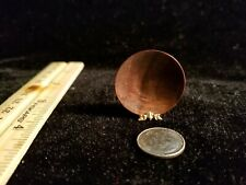 "1:12 Dollhouse Miniature~Hand Turned~Solid Wood~Miniature Bowl  1-1/8"" Signed"
