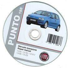 Fiat Punto 2nd series (1999-2003) workshop manual - repair manual