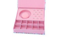 Blue Flower Bracelet Charm Storage Box ideal for Charms, Beads etc