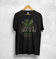Green Dragon Lager T Shirt Lord Of The Rings Bywater Brewery Ale Stout Cider