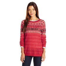 NWT $99 Woolrich Womens Medium Mohair Fairsisle II  Wool/ Mohair Sheep Sweater