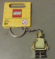 Lego Keychain Gold Chrome Man 850807 With Tag