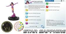 Zafiro Estrella #006# 6 War Of The Luz Fast Forces Dc Heroclix