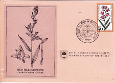 First Day Cover: West Germany 1978 Royal Horticultural Society Flower Stamp! (B)