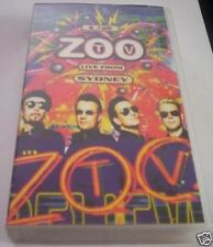 VHS= U2. Zoo Tv Live from Sydney (1994) VHS