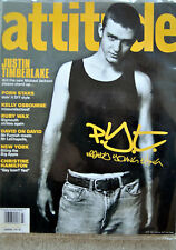 Justin Timberlake Attitude gay magazine vol.1 no.103 kelly Obsourne Nov 2002
