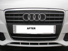 PRE CUT CHROME TRIM FOR AUDI A4 (B8) FRONT  RADIATOR GRILLE 2008 - 2011**