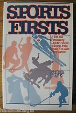 """1981 """"Sports Firsts"""" All Sports & The People Who Made Them Happen, 262-Page Book"""