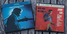 JOHNNY CASH Blood Sweet Tears - San Quentin REEL TO REEL TAPES 4-Track 3 3/4 IPS