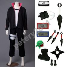 Custom-made Boruto Naruto the Movie Uzumaki Boruto Cosplay Costume Set