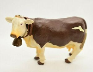 Papo 51036 Montbéliard Cow with Bell 2004 Figure