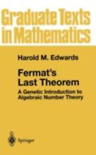 Fermat's Last Theorem: A Genetic Introduction to Algebraic Number-ExLibrary