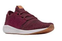 New Balance - Men Fresh Foam Cruz V2 Knit MCRUZKM2 Sneakers, Burgundy/Black