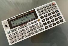 🟢 SHARP PC-1403H Pocket Computer, BASIC Calculator, Taschenrechner. TOP 🟢