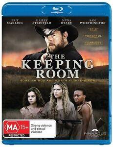 The Keeping Room - Sam Worthington (Blu-ray) Aust Region B- NEW+SEALED
