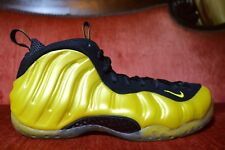 CLEAN NIKE AIR FOAMPOSITE ONE ELECTROLIME GOLDEN STATE 314996-330 SIZE 8.5