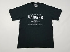 Oakland Raiders T Shirt Men's Medium Vintage 90s Stitched Lee Sport NFL Football