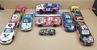 Mixed Lot Of 9 NASCAR Diecast Cars AUTOGRAPHED 1:24 & 1:43 Scale Signed - READ