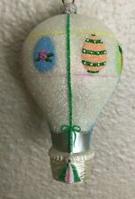 Patricia Breen Ornament - Easter Balloon. Fully Glittered. Neiman Marcus Exclus.