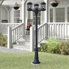 "3 Light 79"" Post Light Lamp Large Outdoor Lighting Fixture Street Lantern Garden"