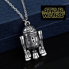 STAR WARS R2D2 Full Metal Pendant force collectible cosplay us seller cosplay