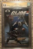 G.I.Joe #21 SIGNED 2X CGC 9.8 2003 Zeck Beatty Silent Issue Renegar