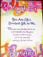 """Blue Mountain Arts Greeting Card """"Daughter - Life's Greatest Gift"""" B2Go Sale"""