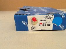 Grohe 19626 Chiara Thermostatic Trim ONLY W/ Lever TEMP control CHROME & BRASS