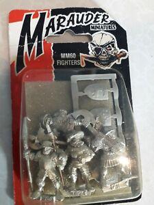 Marauder Miniatures Fighters Unopened Blister pack Bnib citadel warhammer