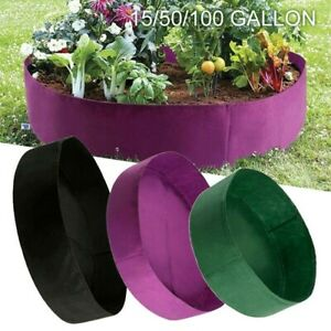 Hershii Square Deepened Garden Raised Bed Kits DIY Plastic Plant Containers Indoor Outdoor Vegetables Herbs Flowers Growing Planter Box Brown 15.35 X 15.35 X 14.96 Inches